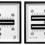 Frequencímetro para painel elétrico